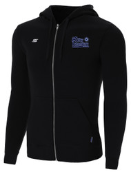 HCI PRO BASIC ZIP UP HOODIE $35-$40 -- BLACK WHITE