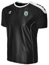 RHINOS  CONDOR SHORT SLEEVE JERSEY-- BLACK WHITE  ($40-$50)