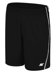 WYCKOFF   YMCA GOALIE SHORTS -- BLACK WHITE