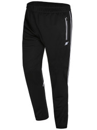 WYCKOFF  YMCA TRAINING PANTS -- BLACK WHITE