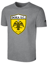 DOXA SC SHORT SLEEVE TSHIRT -- LIGHT HEATHER GREY  $12 - $14