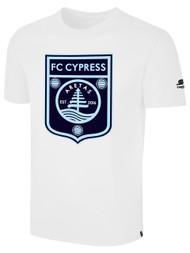 FC CYPRESS BASICS T-SHIRT -- WHITE