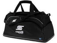 CS ONE DAFFLE BAG   --   BLACK  COMBO