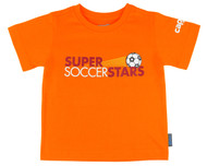 SUPER SOCCER STARS CLASS T-SHIRT--ORANGE(2-2.5 Years)