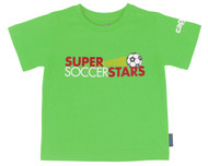 SUPER SOCCER STARS CLASS T-SHIRT--GREEN (2.5 - 3 Years)
