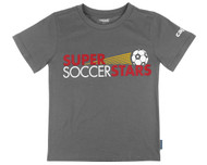 SUPER SOCCER STARS  T SHIRT  -- GREY (2nd - 4th Grade)