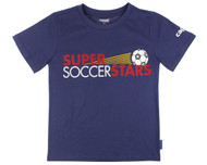SUPER SOCCER STARS  T SHIRT  -- NAVY (K-1st Grade)