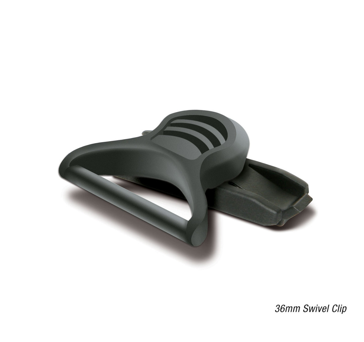 36MM GOGGLE-SWIVEL CLIPS & SHOES RAIL ADAPTER