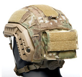 FAST MESH HELMET COVER REMOVABLE REAR POUCH