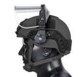 Multi-Hit Handgun Face Shield