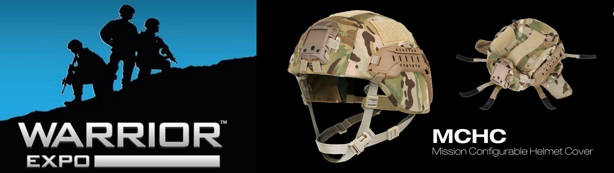 NEW OPS-CORE MISSION CONFIGURABLE HELMET COVER (MCHC) FEATURED AT WARRIOR EXPO EAST