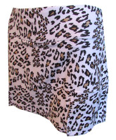 CLEARANCE Bolle Ladies Tennis Skorts - Safari Animal Print (Leopard)