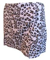 CLEARANCE Bolle Ladies Tennis Skorts - Safari Animal Print (Leopard)