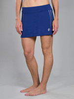 CLEARANCE JoFit Ladies & Plus Size Rally Tennis Skorts - Cosmopolitan/Kona (Blue Depth)