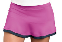 "CLEARANCE Bolle Ladies Tennis 14"" Pull On Skorts – All That Jazz (Rose & Graphite)"