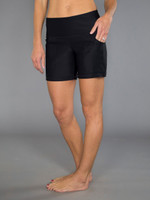 JoFit Ladies & Plus Size Dry Heavyweight Jersey Live In Shorts -  Sea Breeze Black