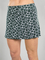 CLEARANCE JoFit Ladies & Plus Size Signature Tennis Skorts - Mojito (Giraffe)