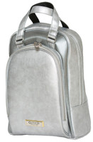 Glove It Ladies Signature Tennis Shoe Bags - Silver Suede