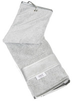 Glove It Ladies Signature Tennis Towels - Silver Suede