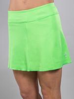JoFit Ladies & Plus Size Jacquard Swing Tennis Skorts - Melon Ball (Grass)