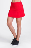 Coraline Red Pull-on Tennis Skort