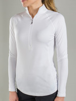 Brushed Long Sleeve Mock Shirt