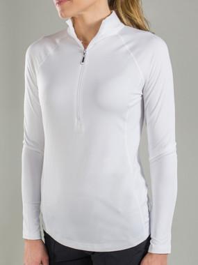 Brushed Long Sleeve Mock Shirt
