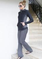 Diagonal Stripe Outfit