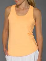 JoFit Ladies & Plus Size Top Spin Tennis Tank Tops - Sonoma (Tangerine)