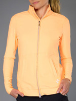 JoFit Ladies & Plus Size Vitality Lifestyle Jackets - Sonoma (Tangerine)