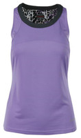 Bolle Ladies Gianna Sleeveless Tennis Tank Tops - Lilac