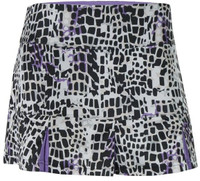 "Bolle Ladies 14"" Gianna Pull On Tennis Skirts – Graphite"