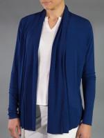 JoFit Ladies & Plus Size Shawl Cardigan - Napa (Blue Depth)