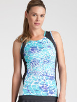Tail Ladies & Plus Size Theresa Tennis Tank Tops - Glistening Tide (Low Tide Curacao)