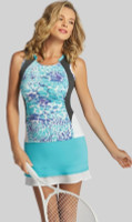 SALE Tail Ladies & Plus Size Tennis Outfits (Tank Tops & Skorts) - Glistening Tide (Theresa/Olivia)