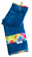 Glove It Ladies Tennis Towels - Electric Plaid