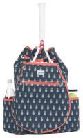 Ame & Lulu Ladies Kingsley Tennis Backpacks - Pineapple