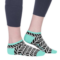 Ame & Lulu Ladies Meet You Match Socks - Black Shutters