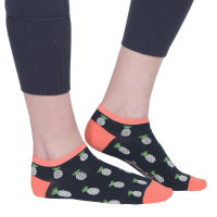 Ame & Lulu Ladies Meet You Match Socks - Pineapple