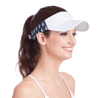Ame & Lulu Ladies Head in the Game Visors - Pineapple