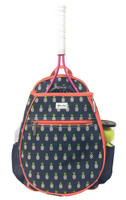 Ame & Lulu Ladies Junior Tennis Camper Backpacks - Pineapple