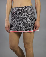 JoFit Ladies & Plus Size Banded Swing Tennis Skorts (Short) - Daiquiri (Ink Spot)