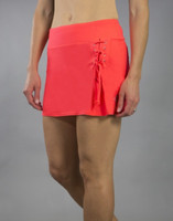JoFit Ladies & Plus Size Lace-Up Tennis Skorts (Short) - Daiquiri (Calypso)