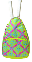 All For Color Ladies Tennis Backpacks - Ready Set Glow