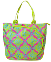 All For Color Ladies Tennis Tote Bags - Ready Set Glow