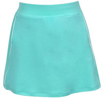 Turtles & Tees Junior Girls Tara Knit Pull On Tennis Skorts - Jade
