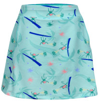 Turtles & Tees Junior Girls Tara Knit Pull On Tennis Skorts - Monkey Love Print