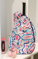 Buckhead Betties Ladies Tennis Backpacks - Casablanca (Pink Multi)