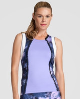 Tail Ladies & Plus Size Sienna Sleeveless Tennis Tank Tops - Stargaze (Lavender)