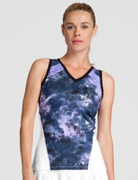 Tail Ladies & Plus Size Tyler Sleeveless Tennis Tank Tops - Stargaze (Galaxy)